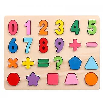 Educational Learning Letter Toys(Set4)