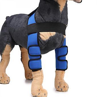Evago Classic Style-dog Recovery Sleeve, huisdier hond front elleboog beschermer ondersteuning voor hulp artritis, revalidatie, slechte stabiliteit, gewrichtsblessures verwonden