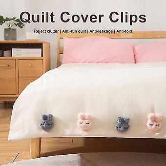 Quilt Cover Fixing Clips, 8 Pieces, Made Of Non-slip Plastic, Used To Fix Blankets, Quilts, Sheets, Sleep