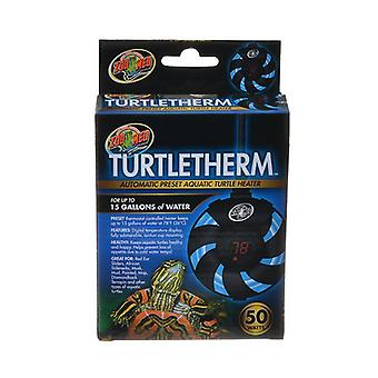 Zoo Med Turtletherm Automatic Preset Aquatic Turtle Heater - 50 Watt (Up to 15 Gallons)