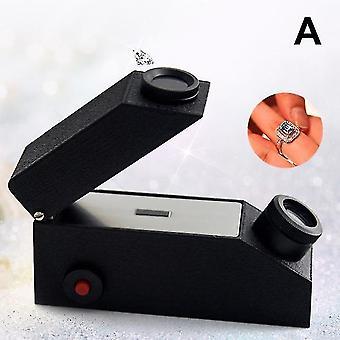 2019 Neues Edelsteininstrument Edelstein werkzeug Refraktometer Diamantdetektor extern mit Lichtquelle