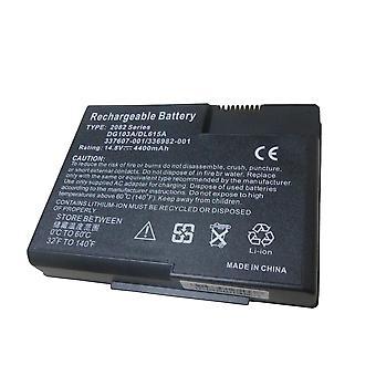 4400mah Battery For Hp  Presario X1000 De185av De186av  De707av Dk454av X1001us -dk575a Dk575ar Paokard 337607-003 Dg1-3a
