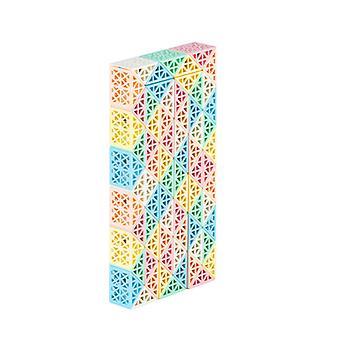 magisk slange linjal kube puslespill, vri folding leketøy