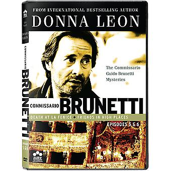 The Commissario Guido Brunetti Mysteries: Death at La Fenice/Friends in High Places [DVD] USA import