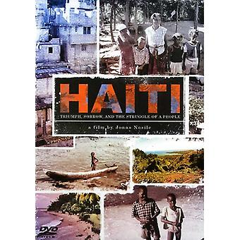 Haiti: Triumph Sorrow & the Struggle of a People [DVD] USA import