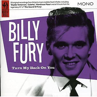 Billy Fury - Turn My Back on You [CD] USA import