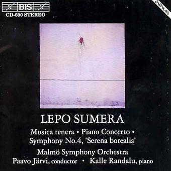 L. Sumera - Sumera: Musica Tenera; Piano Concerto; Symphony No.4 [CD] USA import