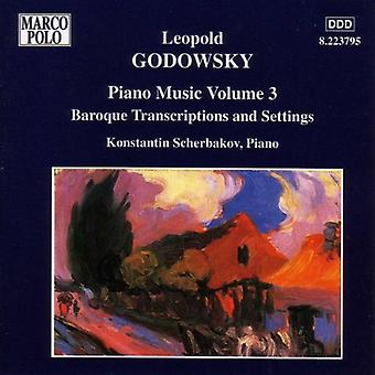 L. Godowsky - Godowsky: Piano Music, Vol. 3 [CD] USA import