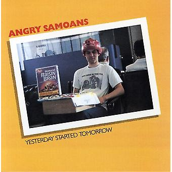 Angry Samoans - Yesterday Started Tomorrow [CD] USA import