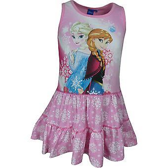 Fete Disney Frozen Anna & Elsa fără mâneci Dress