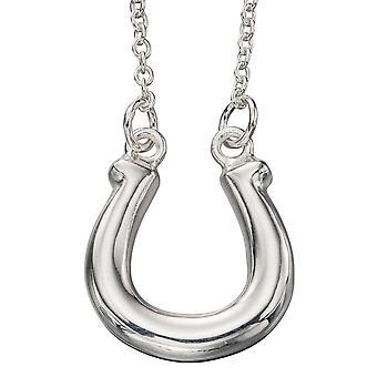 925 Silver Fashionable Horseshoe Necklace