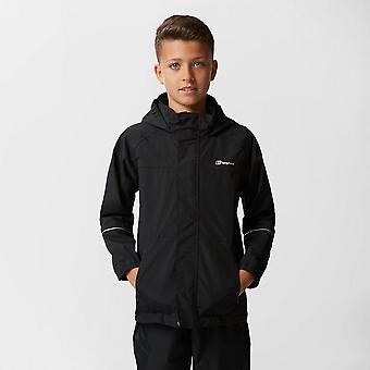 Nowy Berghaus Boy ' s Callander wodoodporna kurtka płaszcz czarny