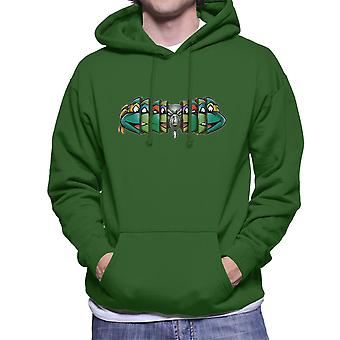 Origin Of The Ninja Teenage Mutant Ninja Turtles Men's Hooded Sweatshirt