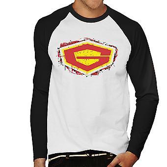 G Force guardião do Baseball espaço masculino t-shirt de mangas compridas