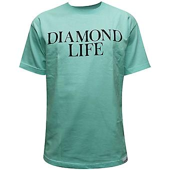 Diamant Supply Co Diamond Life T-shirt Blue Diamond
