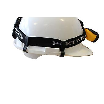 Portwest - 100 Packs of 4 Universal Head Light Safety Helmet Clips
