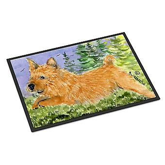 Carolines Treasures  SS8910MAT Norwich Terrier Indoor Outdoor Mat 18x27 Doormat