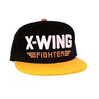 Star Wars Baseball Cap przebudzenie X Wing Fighter Nowy oficjalny snapback