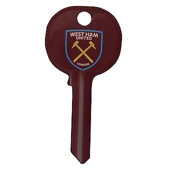 West Ham FC fútbol cresta espacio en blanco dominante