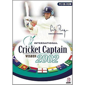 International Cricket Captain 2002 - Usine scellée