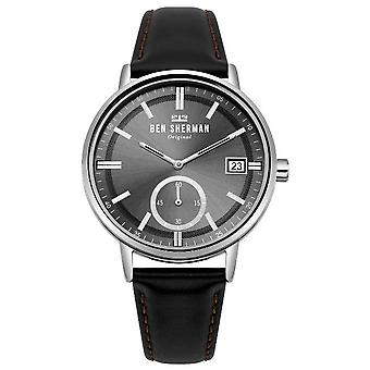 Ben Sherman mens watch PORTOBELLO PROFESSIONAL DAY-DATE WB071BB