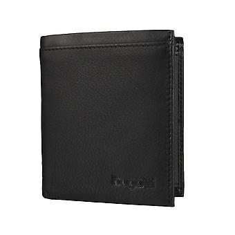 Bugatti Veloce mannen wallet portemonnee portemonnee zwart 3593