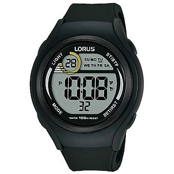 Lorus Unisex Lorus kumi Digital Urheilu Black R2373LX9 Watch