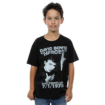 David Bowie pojkar Earls Court hjältar T-Shirt