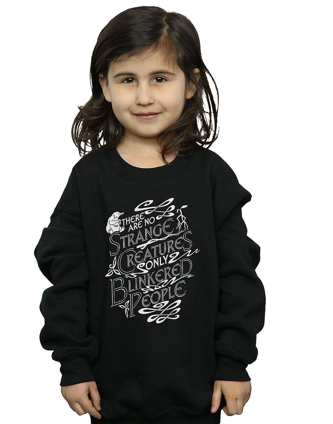 Fantastic Beasts Girls Strange Creatures Sweatshirt