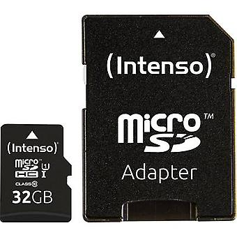 Intenso Professional microSDHC kaart 32 GB Class 10 UHS-I SD incl. adapter