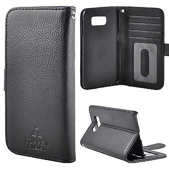 TOP left-handed wallet case Samsung Galaxy S8 Plus Black