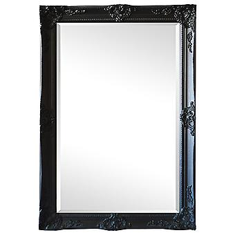 Mirror in black, outer dimensions 109x79 cm fantastic motif