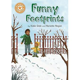 Reading Champion - Funny Footprints - Independent Reading Orange 6 by R
