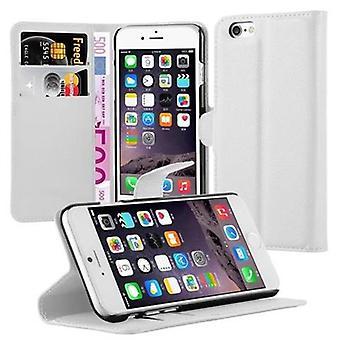 アップルの iPhone 6 の Cadorabo ケース カバー iPhone 6 s - カード ホルダーとスタンド機能付きモバイル ケース - ケース スリーブ袋のバッグ本 Klapp スタイル/