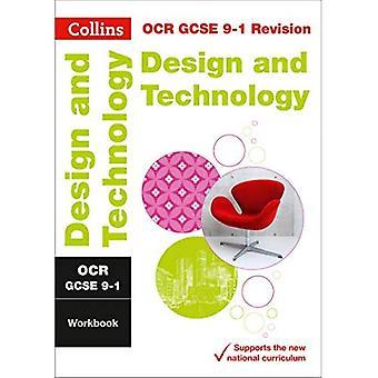 OCR GCSE 9-1 Design & cartella di lavoro di tecnologia (Collins GCSE 9-1 revisione) (revisione di Collins GCSE 9-1)