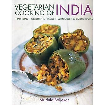 Vegetarisk matlagning i Indien