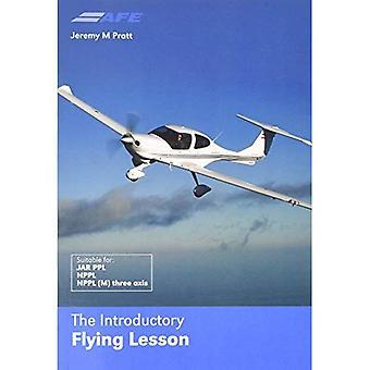 La lección de vuelo introductorio