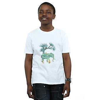 הילדים של דן Dingeroz פיל הטבע T-חולצת