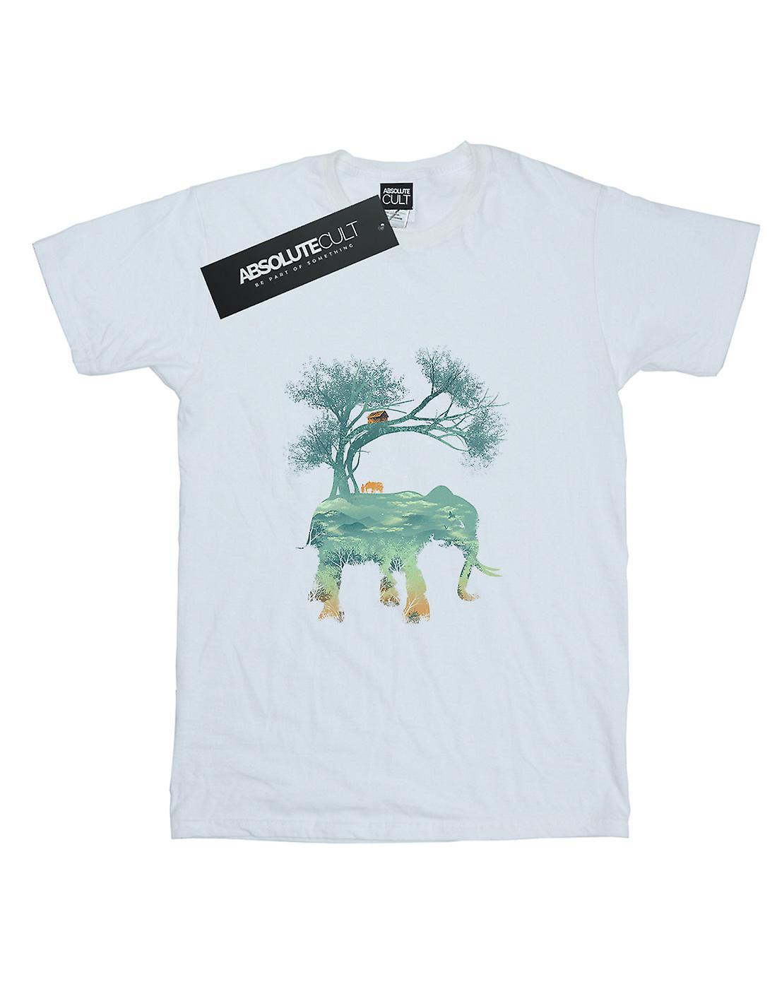 Dan Dingeroz Men's Elephant Nature T-Shirt