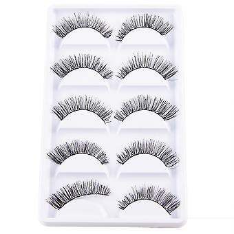 10pcs luxurious long false eyelashes-Frida