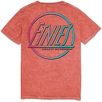 Etnies Retro Short Sleeve T-Shirt in Rust