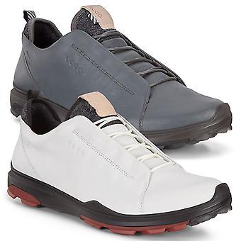ECCO mens 2019 BIOM Hybrid 3 waterdichte lederen ademende golf schoenen