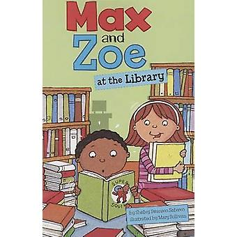 Max and Zoe at the Library by Shelley Swanson Sateren - Mary Sullivan