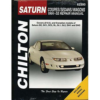Saturn S-Series Coupes/Sedans/Wagons 1991-2002 Repair Manual by Matth