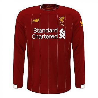2019-2020 Liverpool Home Long Sleeve Shirt (Kids)