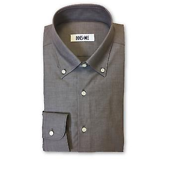 Ingram shirt in brown/grey