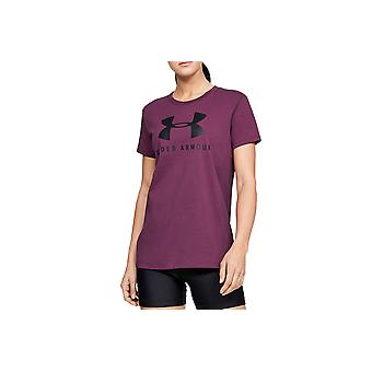 Under Armour Graphic Sportstyle Classic Crew 1346844-569 Womens T-shirt