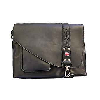 Pride and Soul 47142 - Joker shoulder bag in true leather color: Black