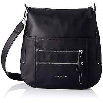 Liebeskind Berlin - Limon Gromme Donna Black shoulder bags (Black) 12x32x30 cm (B x H x T)
