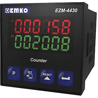 Emko EZM-4430.5.00.0.1/00.00/0.0.0.0 00.0. 1/00 EZM -4430.5.. 00/0.0.0.0 8-digit preset counters with relay output